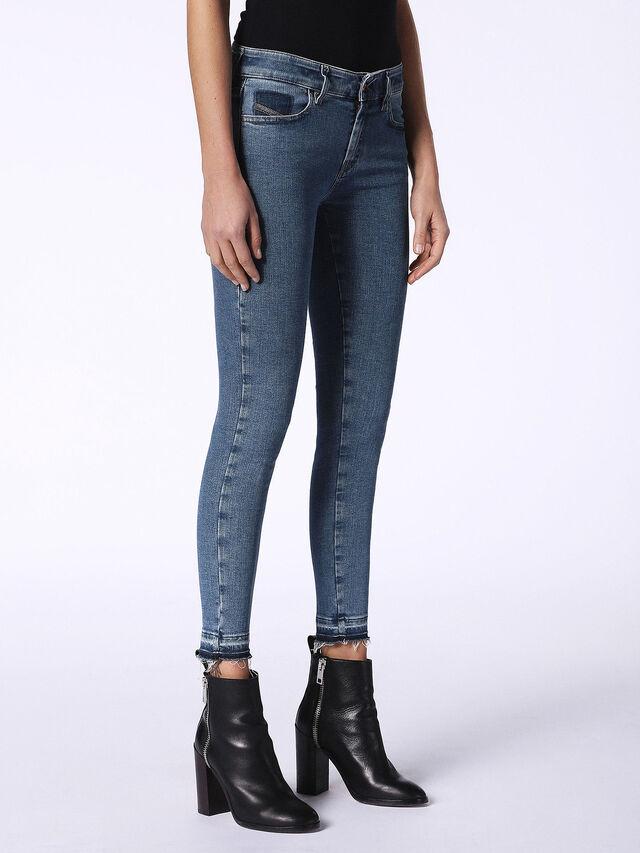 SLANDY-ANKLE-R 0699I, Blu Jeans