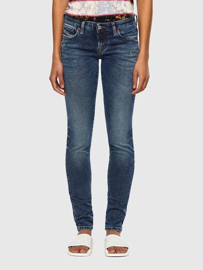 Diesel - GRACEY JoggJeans® 069SR, Blu Scuro - Jeans - Image 1