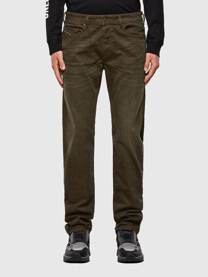 Diesel - Buster 0699P, Verde Militare - Jeans - Image 1
