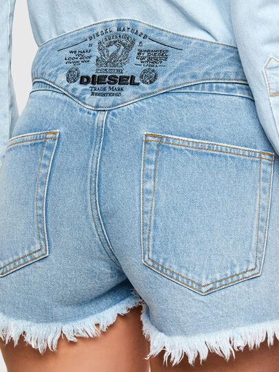Diesel - DE-BATY-SP, Blu Chiaro - Shorts - Image 3