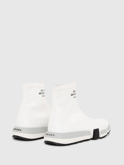 Diesel - H-PADOLA HIGH SOCK, Bianco - Sneakers - Image 3