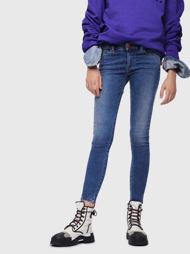 Diesel - Slandy 084NM, Blu medio - Jeans - Image 1