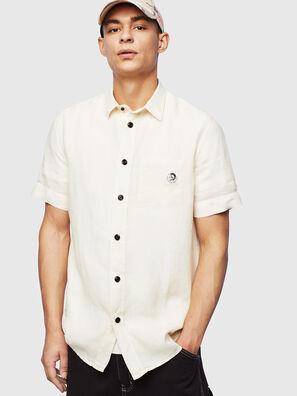 S-KIRUMA-B, Bianco - Camicie