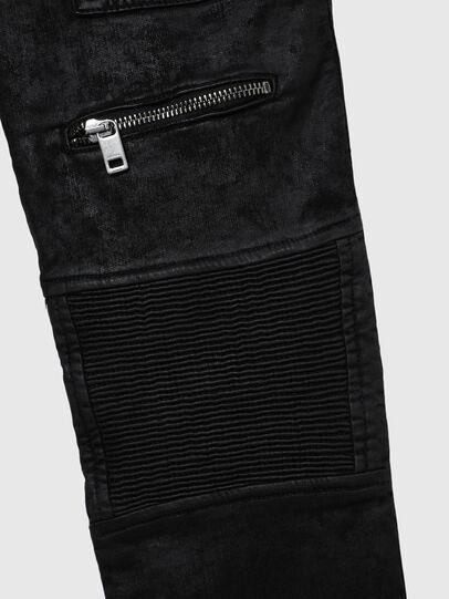 Diesel - D-DERROT-SP-J JOGGJEANS, Nero - Jeans - Image 4