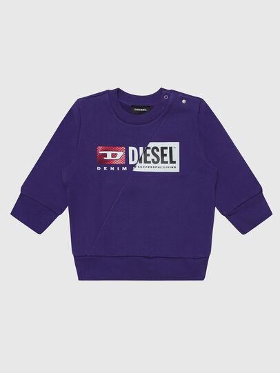 Diesel - SGIRKCUTYB-FL, Viola - Felpe - Image 1