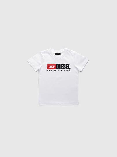 Diesel - TJUSTDIVISIONB-R, Bianco - T-shirts e Tops - Image 1