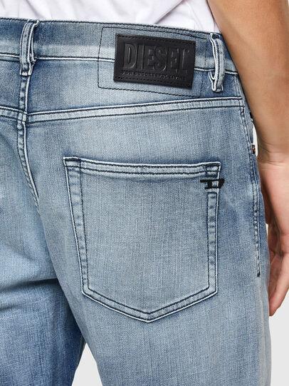 Diesel - D-Strukt 009NS, Blu Chiaro - Jeans - Image 4