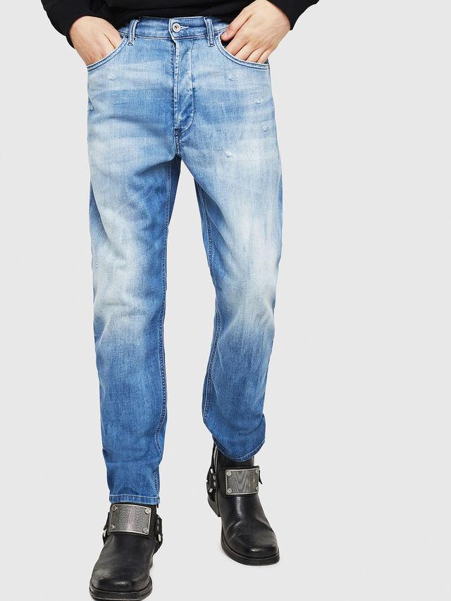 Diesel - D-Eetar 081AS, Blu Chiaro - Jeans - Image 1