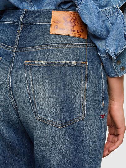 Diesel - D-Reggy 009UD, Blu Scuro - Jeans - Image 4