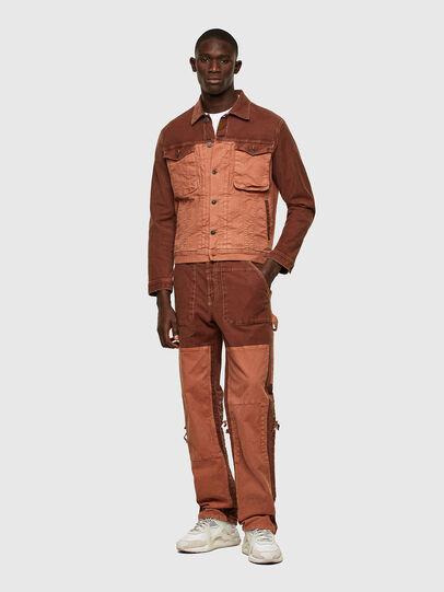 Diesel - D-Franky JoggJeans® 0DDAW, Marrone - Jeans - Image 6