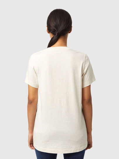 Diesel - T-LILLY-B1, Bianco - T-Shirts - Image 2