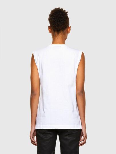 Diesel - T-PUNKYER-R1, Bianco - T-Shirts - Image 2