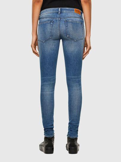 Diesel - Slandy Low 009JI, Blu Chiaro - Jeans - Image 2