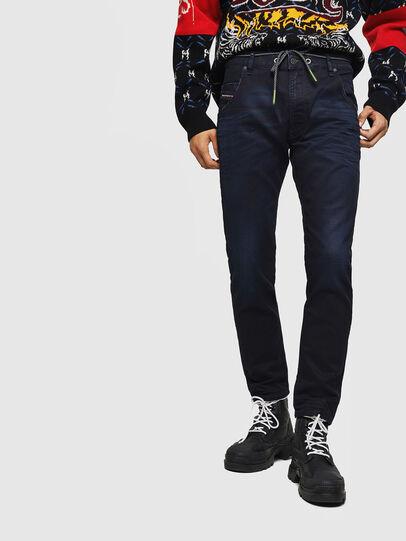 Diesel - Krooley JoggJeans 069IC, Blu Scuro - Jeans - Image 1