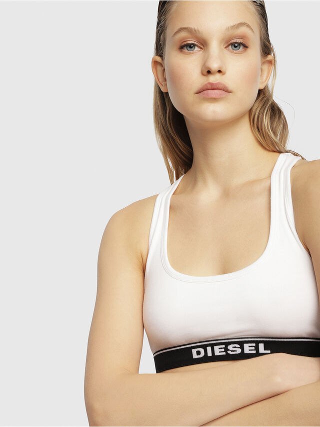 Diesel - UFSB-MILEY, Bianco - Reggiseni - Image 3