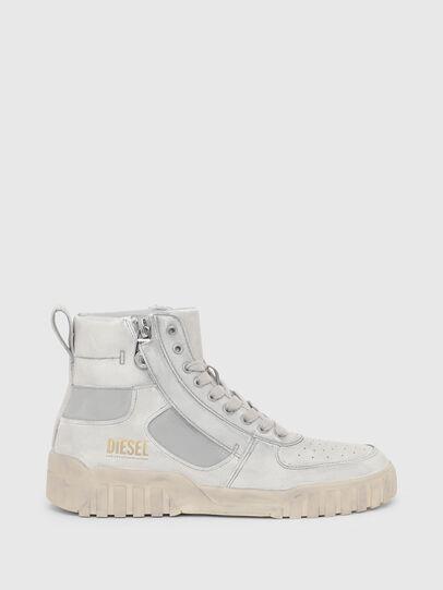 Diesel - S-RUA MID SK, Bianco - Sneakers - Image 1