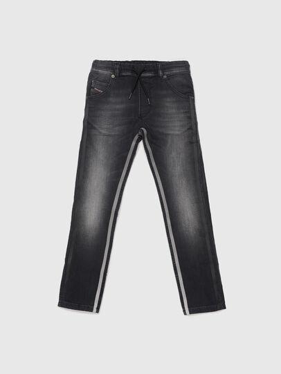 Diesel - KROOLEY-J JOGGJEANS, Nero - Jeans - Image 1