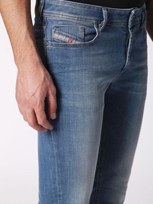 Diesel - Sleenker 084RV, Blu Jeans - Jeans - Image 6
