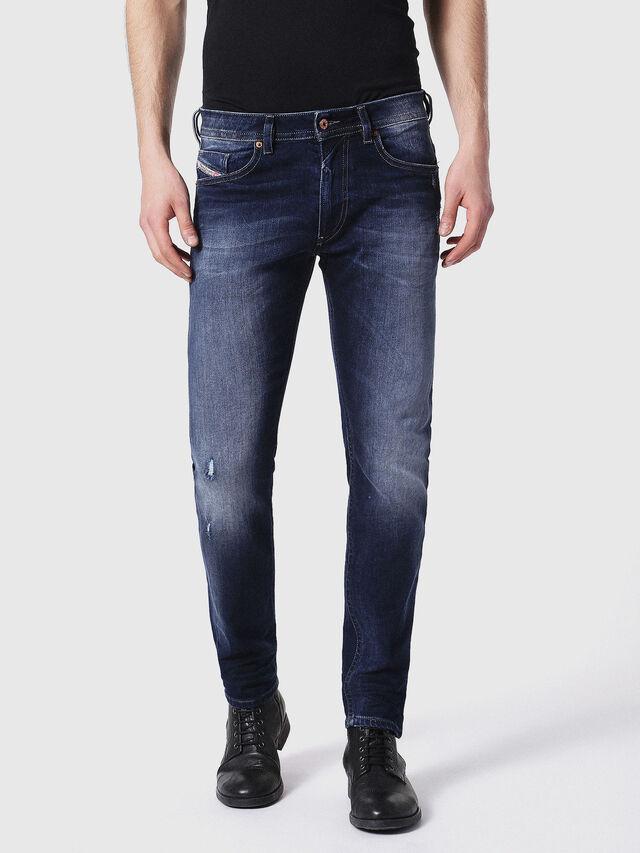Diesel - Thommer 0860L, Blu Scuro - Jeans - Image 2