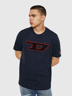 T-JUST-DIVISION-D, Blu Scuro - T-Shirts