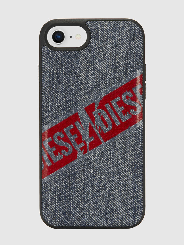 Diesel - VINTAGE DENIM IPHONE 8/7/6S/6 CASE, Blu Jeans - Cover - Image 2