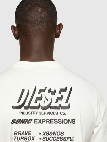 Diesel - T-JUST-A33, Bianco - T-Shirts - Image 4