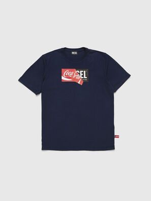CC-T-JUST-COLA, Blu Scuro - T-Shirts
