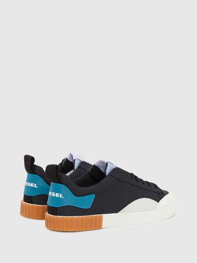 Diesel - S-BULLY LC, Nero/Blu - Sneakers - Image 3
