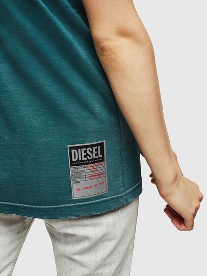 Diesel - T-FLAVIA-IC, Blu - T-Shirts - Image 5