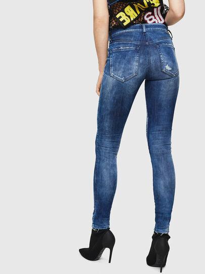 Diesel - Slandy 0090Q, Blu medio - Jeans - Image 2