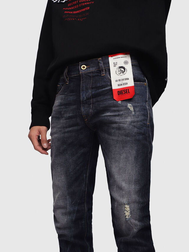 Diesel - D-Strukt 089AL, Blu Scuro - Jeans - Image 4