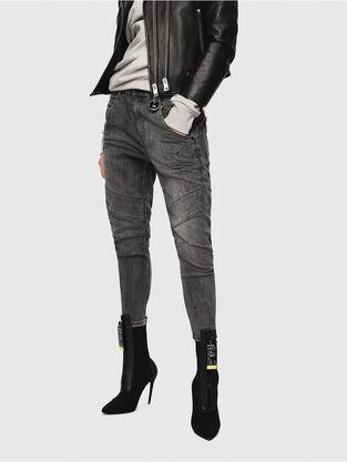 Fayza JoggJeans 8880U, Nero/Grigio scuro - Jeans