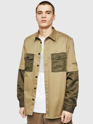 S-KOSOV, Verde Militare - Camicie