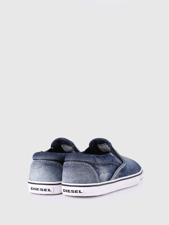 Diesel - SLIP ON 21 DENIM CH, Blu Jeans - Scarpe - Image 3