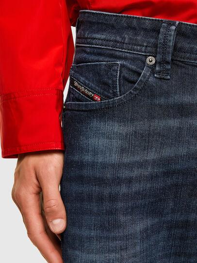Diesel - Larkee 0095W, Blu Scuro - Jeans - Image 3