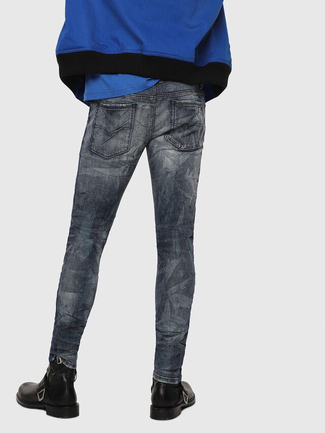 Diesel - Sleenker 069DH, Blu Scuro - Jeans - Image 2
