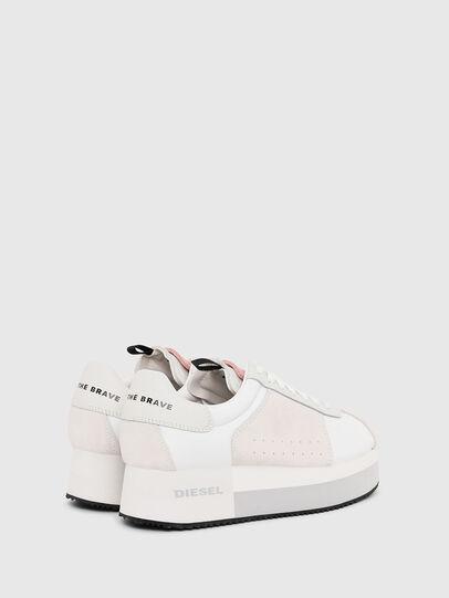 Diesel - S-PYAVE WEDGE, Bianco/Rosa - Sneakers - Image 3