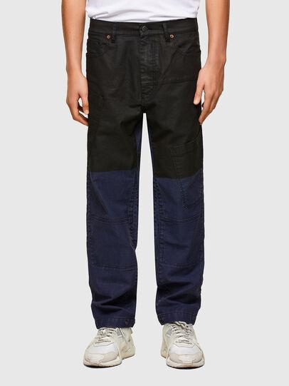Diesel - D-Azerr JoggJeans® 0DDAY, Blu Scuro - Jeans - Image 1