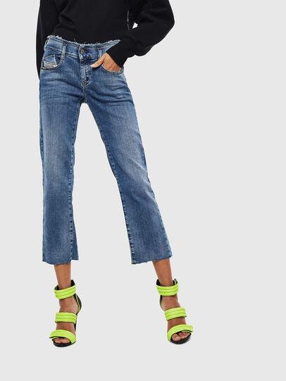 Diesel - D-Ebbey 009AA, Blu medio - Jeans - Image 1