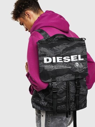 Diesel - VOLPAGO BACK, Nero - Zaini - Image 8