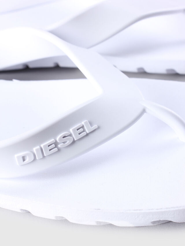 Diesel - SPLISH, Bianco - Ciabatte - Image 4