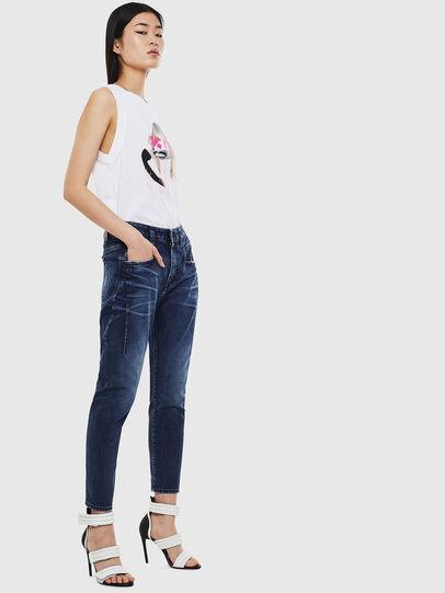 Diesel - Fayza 009BY, Blu Scuro - Jeans - Image 6