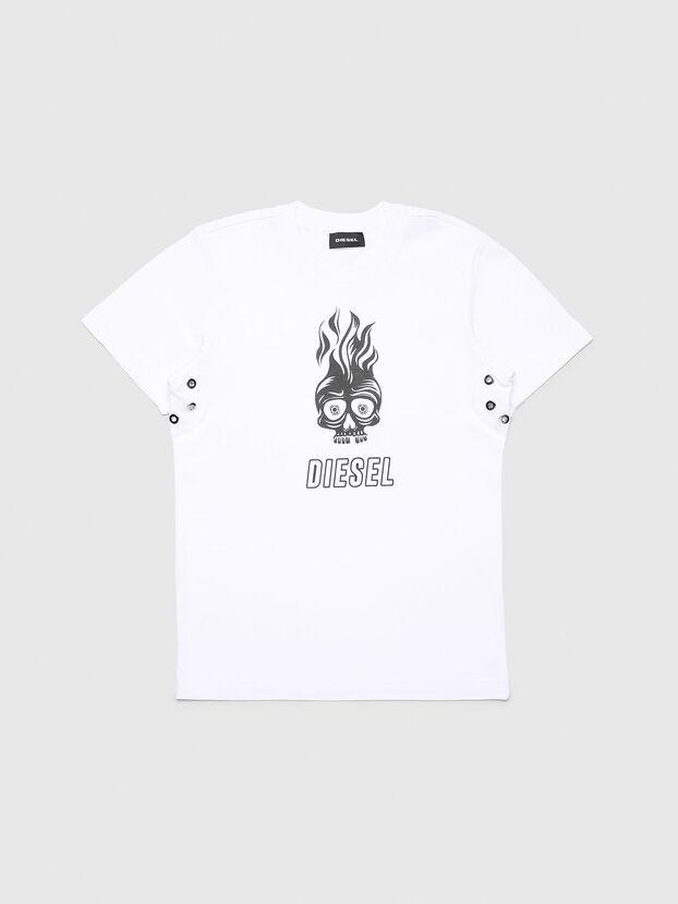 TUSILYWQ, Bianco - T-shirts e Tops