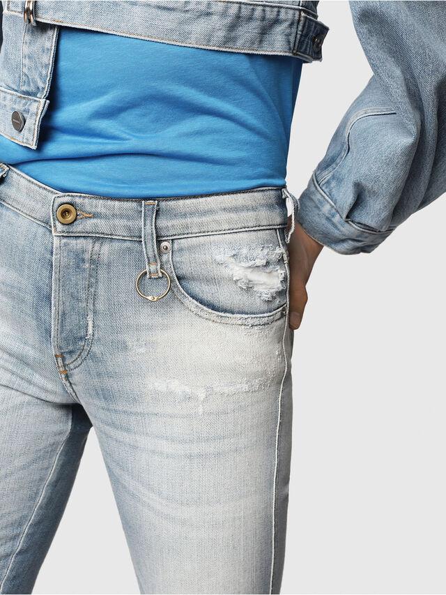 Diesel - Babhila 081AJ, Blu Chiaro - Jeans - Image 3