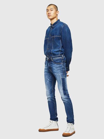 Diesel - Thommer 0097W, Blu Scuro - Jeans - Image 6
