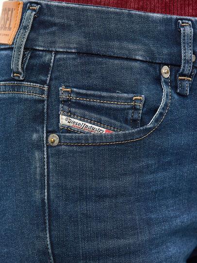 Diesel - Slandy-B 009JP, Blu Scuro - Jeans - Image 4