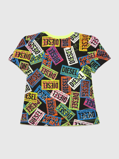 Diesel - TAIRB, Verde Fluo - T-shirts e Tops - Image 2