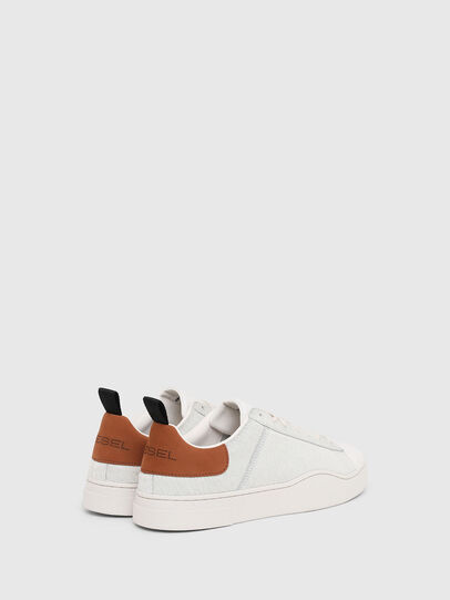 Diesel - S-CLEVER LOW LACE, Bianco/Marrone - Sneakers - Image 3
