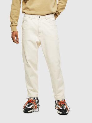 P-LAMAR, Bianco - Pantaloni