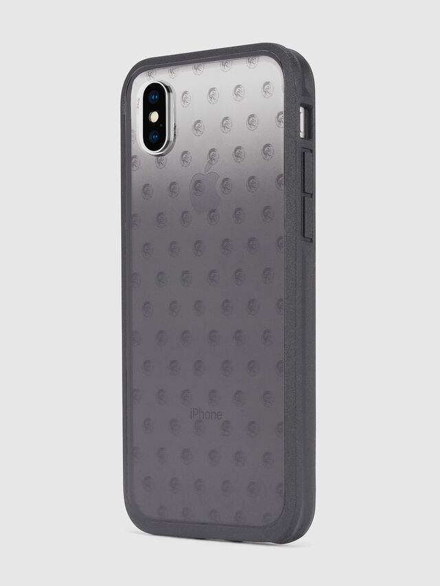 Diesel - MOHICAN HEAD DOTS BLACK IPHONE X CASE, Nero/Grigio - Cover - Image 6